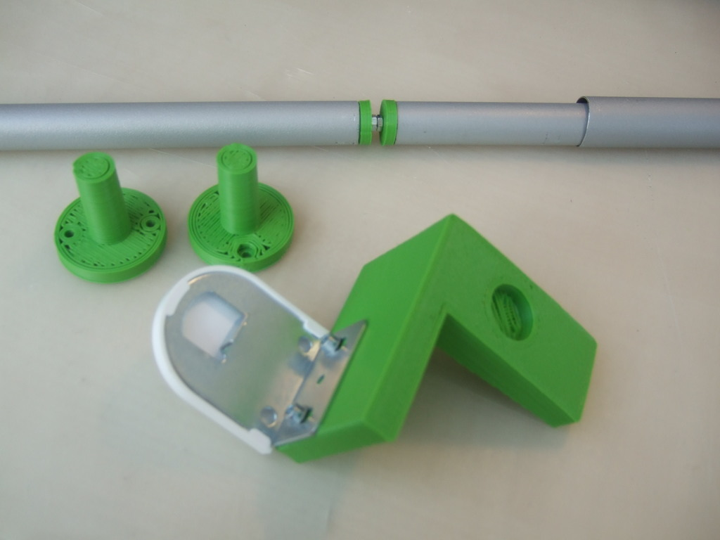 3d Printed Adapter For Ikea Roller Blinds For A Velux Window